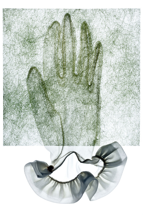 fragile fabric glove