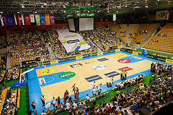Arena Zlatorog during friendly match between National teams of Slovenia and Latvia for Eurobasket 2013 on August 2, 2013 in Arena Zlatorog, Celje, Slovenia. (Photo by Vid Ponikvar / Sportida.com)