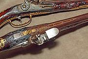 Caspar Zelner Flintlock pistol pair, ca. 1661-1667