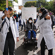 Doctors for Justice March in Seattle, WA USA<br /> <br /> EDITORIAL USE ONLY - WITH PERMISSION