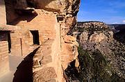 Window and balcony at Balcony House Ruin, Mesa Verde National Park, Colorado