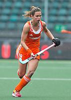 DEN HAAG - ELLEN HOOG. Nederland speelt oefenwedstrijd tegen USA in het Kyocera Stadion. COPYRIGHT KOEN SUYK