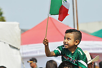 Mexican flags were everywhere at the traditional El Grito Festival in Salinas.