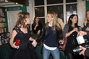 ALLIE ESIRI; CHARLOTTE SPENCER Allie Esiri's The Love Book launch party , Daunt Books <br /> 83 Marylebone High Street, London. 5 February 2014