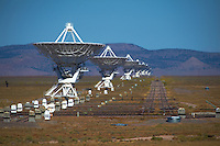 National Radio Astronomy Observatory. The Karl G. Jansky Very Large Array in New Mexico. Image taken with a Nikon D700 and 300 mm f/2.8 VR + TC-E 20 III teleconverter (ISO 200, 600 mm, f/5.6, 1/4000 sec).