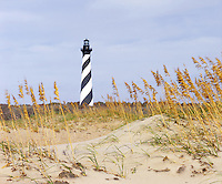 BB05933-02...NORTH CAROLINA - Cape Hatteras Lighthouse on the Outer Banks in the Cape Hatteras National Seashore.