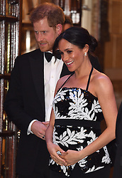 The Duke and Duchess of Sussex attend the Royal Variety Performance at The London Palladium, London, UK, on the 19th November 2018. 19 Nov 2018 Pictured: Prince Harry, Duke of Sussex, Meghan Markle, Duchess of Sussex. Photo credit: James Whatling / MEGA TheMegaAgency.com +1 888 505 6342