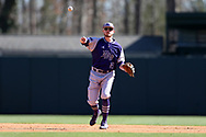 CHAPEL HILL, NC - FEBRUARY 27: High Point's Nick Niarchos. The University of North Carolina Tar heels hosted the High Point University Panthers on February 27, 2018, at Boshamer Stadium in Chapel Hill, NC in a Division I College Baseball game. UNC won the game 10-0.