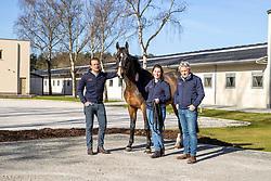 Sport Horse Clinic, Frank Van Hoeck, Willem Verhaeghe, Marie-Stéphanie Delheid<br /> Sport Horse Clinic - Lille 2021<br /> © Hippo Foto - Dirk Caremans<br /> 29/03/2021