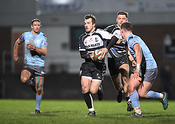 Dale Stuckey of Pontypridd<br /> <br /> Photographer Mike Jones/Replay Images<br /> <br /> Principality Premiership - Neath v Pontypridd - Friday 16th March 2018 - The Gnoll Neath<br /> <br /> World Copyright © Replay Images . All rights reserved. info@replayimages.co.uk - http://replayimages.co.uk