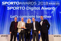 Petrol team at Sports Awards & Brands ceremony during Sports marketing and sponsorship conference Sporto 2018, on November 22, 2017 in Hotel Slovenija, Congress centre, Portoroz / Portorose, Slovenia. Photo by Vid Ponikvar / Sportida