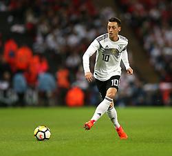 10 November 2017 Wembley: Friendly International Football Match - England v Germany: Mesut Ozil of Germany.<br /> Photo: Mark Leech