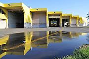 Israel, Ben-Gurion international Airport. Emergence response team station