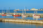 Fishing boats <br /> Gaspe<br /> Quebec<br /> Canada