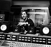 Nigel Kennedy  in the studio London 1992