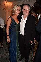 Rick Stein and Sarah Burns at the Fortnum & Mason Food and Drink Awards, Fortnum & Mason Food and Drink Awards, London, England. 10 May 2018.