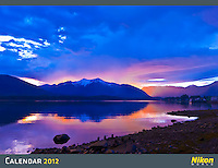 This is the cover of the 2012 Nikon calendar, shot near Petersburg, Alaska.