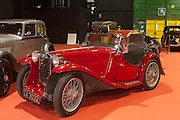 """RIAC Classic Car Show 2013, RDS, 1934 MG PA, ZA 3032, current owner: Paul MacNaughton. This car was found in Belfast in the 1960's -(MZ 7356 with a """"Free State"""" original registration). It's a true museum piece. Irish, Photo, Archive."""