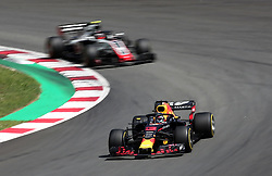 May 13, 2018 - Barcelona, Spain - Daniel Ricciardo, team Red Bull, during the GP Spain F1, on 13th May 2018 in Barcelona, Spain. (Credit Image: © Joan Valls/NurPhoto via ZUMA Press)