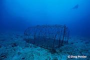 abandoned fish trap, Surin Islands, Thailand, ( Andaman Sea, Indian Ocean )