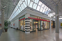 Interior store front images of the Mall in Columbia for GGP