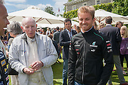 SIR JOHN SURTEES; NICO ROSBERG, The Cartier Style et Luxe during the Goodwood Festivlal of Speed. Goodwood House. 1 July 2012.