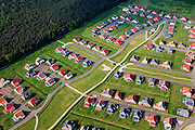 Nederland, Noord-Brabant, Gemeente Liessel, 27-05-2013; Roggel, Buitenhof de Leistert. Vakantiepark met luxe vakantiewoningen <br /> Holiday camp with luxury cottages.<br /> luchtfoto (toeslag op standaardtarieven);<br /> aerial photo (additional fee required);<br /> copyright foto/photo Siebe Swart.