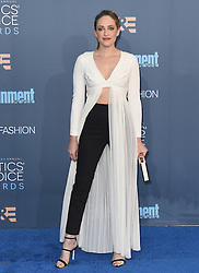 Stars attend the 22nd Annual Critics Choice Awards in Santa Monica, California. 11 Dec 2016 Pictured: Carly Chaikin. Photo credit: Bauer Griffin / MEGA TheMegaAgency.com +1 888 505 6342