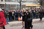 CINDY ADAMS, Public going to the Inauguration of Donald Trump and demonstrators and various entrances,  Washington DC. 20  January 2017