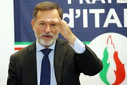 ALBERTO BALBONI<br /> CONFERENZA FRATELLI ITALIA FERRARA