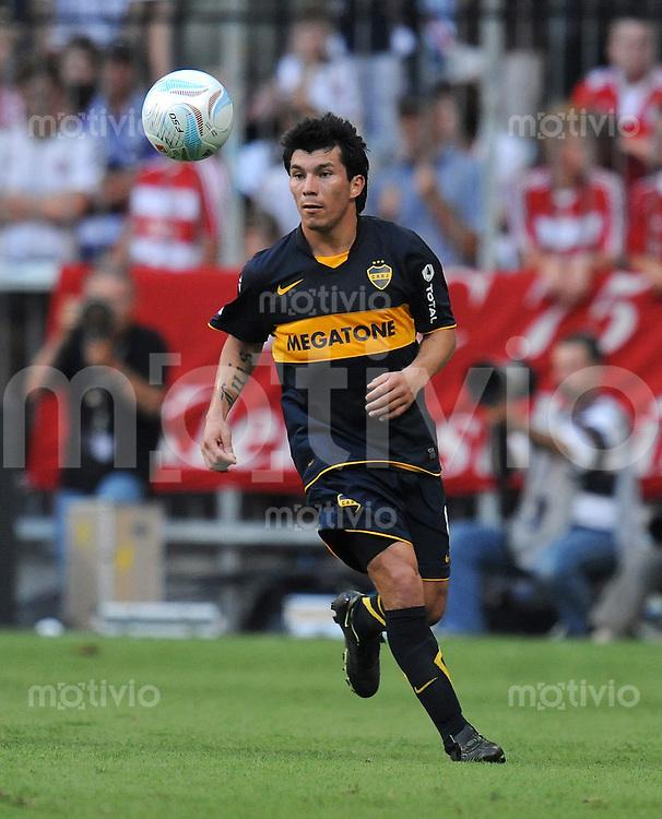 Fussball  International   Audi Cup 2009   29.07.2009 CA Boca Juniors  - Manchester United Gary Medel (Boca Juniors)