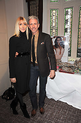 PATRICK COX and LADY EMILY COMPTON at a shopping afternoon hosted by Amanda Kyme and Tamara Beckwith featuring designs from Elizabeth Hurley held at the Cadogan Hotel, 75 Sloane Street, London SW1 on 23rd November 2010.