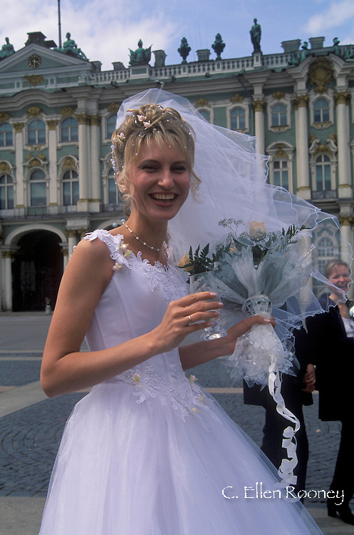 Russian bride in St Petersberg, russia