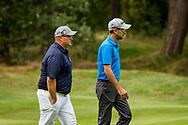 01-09-2016 Golffoto's van het Nationaal Open op de Hilversumsche Golf Club in Hilversum. Finale.  Ralph Miller en Robin Swane