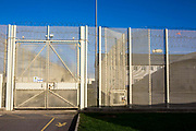 HMP/YOI Portland, a resettlement prison with a capacity for 530 prisoners. Dorset, United Kingdom.