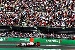 October 30, 2016 - Mexico - City, Mexico - Motorsports: FIA Formula One World Championship 2016, Grand Prix of Mexico, .#21 Esteban Gutierrez (MEX, Haas F1 Team) (Credit Image: © Hoch Zwei via ZUMA Wire)