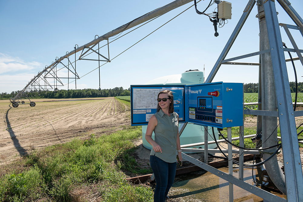 """Irrigation is a critical asset in maintaining yield stability. According to the C.M Stripling Irrigtation Research Park, """"the apps require minimum input from the user and push notifications to the user when it is time to irrigate."""""""