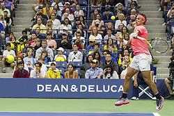 August 29, 2017 - New York, New York, USA - AUG 29, 2017: Rafael Nadal (ESP) during the 2017 U.S. Open Tennis Championships at the USTA Billie Jean King National Tennis Center in Flushing, Queens, New York, USA.AUG 29, 2017: Rafael Nadal (ESP) during the 2017 U.S. Open Tennis Championships at the USTA Billie Jean King National Tennis Center in Flushing, Queens, New York, USA. (Credit Image: © David Lobel/EQ Images via ZUMA Press)