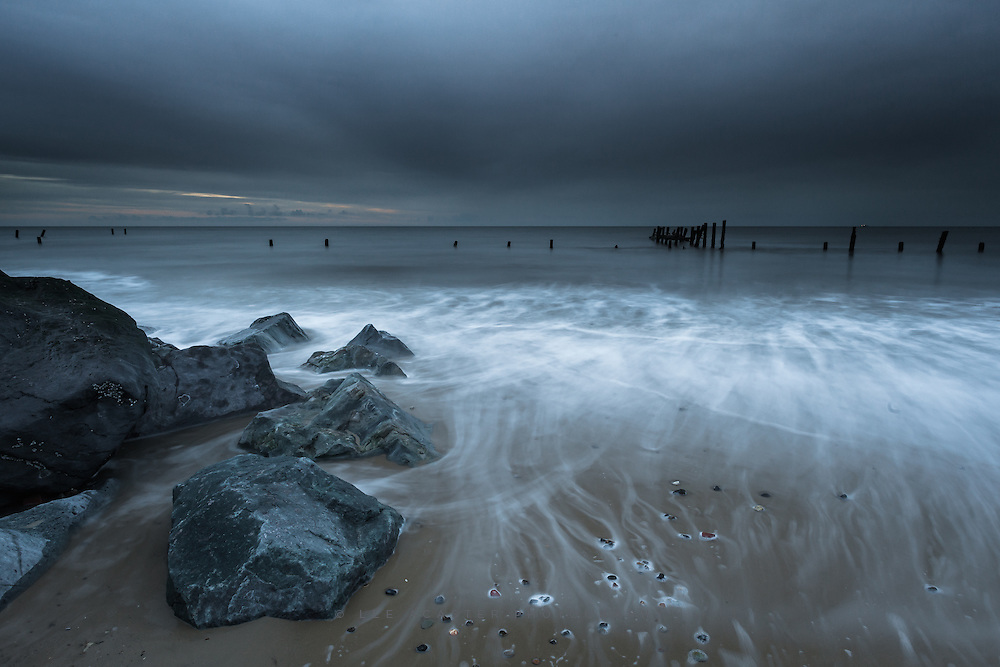 Another pre-dawn shot from Happisburgh in Norfolk