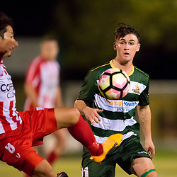16th June 2017 - NPLQLD Senior Men RD14: Olympic FC v Western Pride