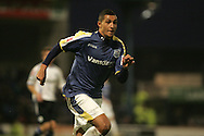 Jay Bothroyd of Cardiff City. Coca Cola championship, Cardiff City v Sheffield Wednesday at Ninian Park, Cardiff on Sat 20th Dec 2008. pic by Andrew Orchard, Andrew Orchard sports photography,
