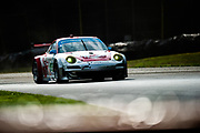 August 4-6, 2011. American Le Mans Series, Mid Ohio. 44 Flying Lizard Motorsports, Porsche 997 GT3-RSR, Darren Law, Seth Neiman