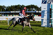 Princess Way ridden by Rhianin Ingram and trained by Paul George - Mandatory by-line: Robbie Stephenson/JMP - 25/06/2020 - HORSE RACING - Bath Racecoure - Bath, England - Bath Races 25/06/20