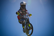 #167 (JAMES Kurt) NZL at the 2013 UCI BMX Supercross World Cup in Chula Vista
