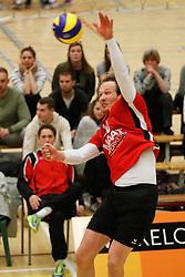20180324 NED: Topdivisie Maatwerkers VCN - Next Volley Dordrecht, Capelle aan den IJssel <br />Rowan Hogenboom (10) of Maatwerkers VCN <br />©2018-FotoHoogendoorn.nl / Pim Waslander