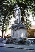 Statue of Cardinal Richelieu 1585-1642, Richelieu, Indre-et-Loire, France 1976