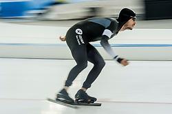 11-12-2016 NED: ISU World Cup Speed Skating, Heerenveen<br /> Peter Michael NZL op de 10.000 meter tijdens het World Cup Schaatsen in Thialf