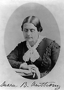 Susan B. Anthony 1870. Matthew Brady,