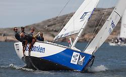 Hansen in action. Photo:Dan Ljungsvik