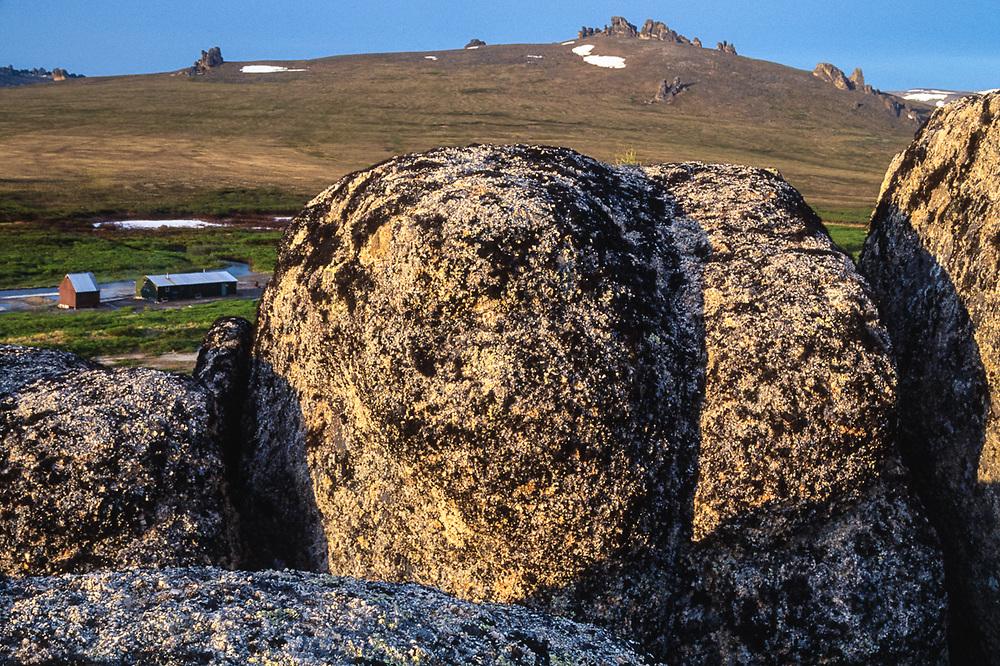 Landscape near Serpentine Hot Springs,  Bering Land Bridge National Preserve, Alaska, USA